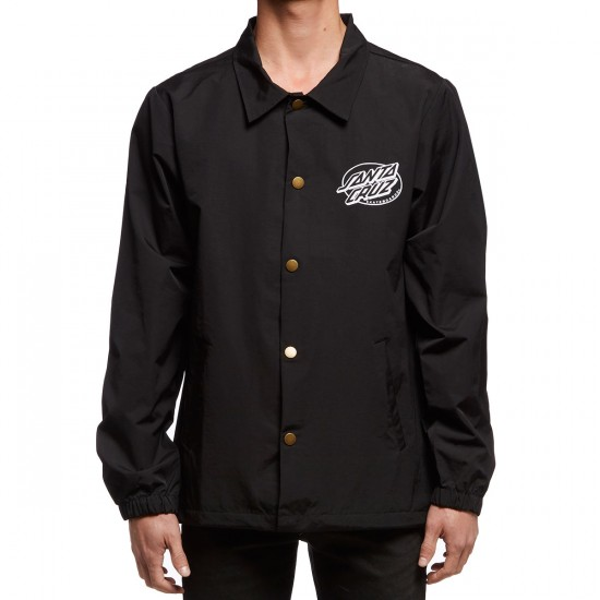 Santa Cruz Kendall End The World Coaches Jacket - Black