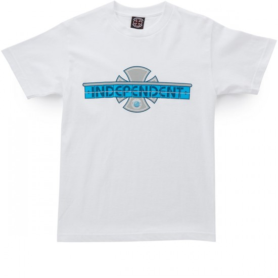Independent Tile T-Shirt - White