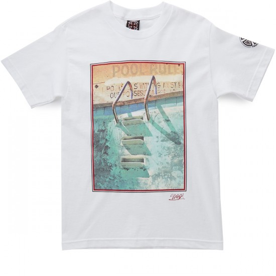 Independent Salba Pool Rules T-Shirt - White