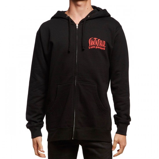 Santa Cruz Jessee SunGod Zip Up Hoodie - Black