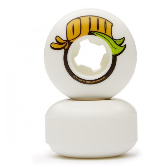 OJ From Concentrate Skateboard Wheels - White - 53mm 101a
