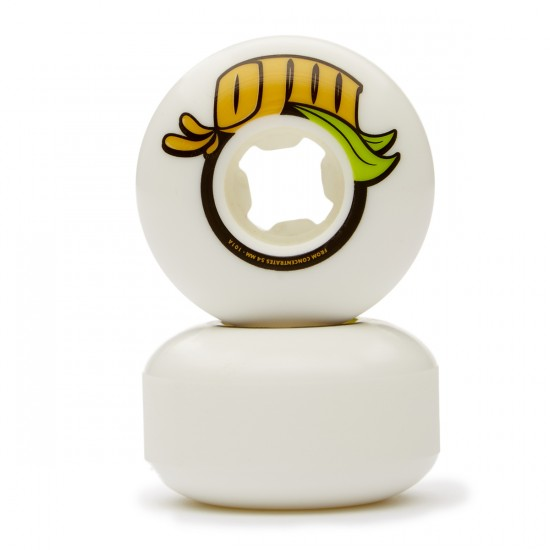 OJ From Concentrate Skateboard Wheels - White - 54mm 101a