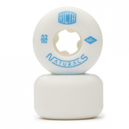 Ricta Naturals Skateboard Wheels - 52mm 101a