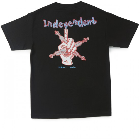 Independent My Name Is Gonzales T-Shirt - Black
