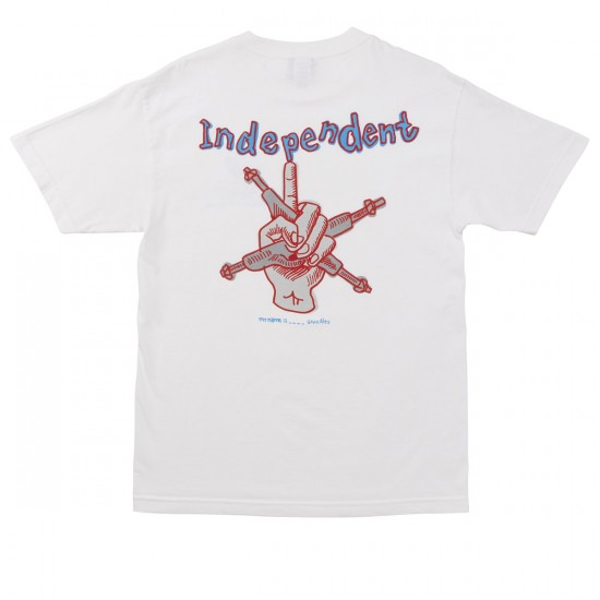 Independent My Name Is Gonzales T-Shirt - White
