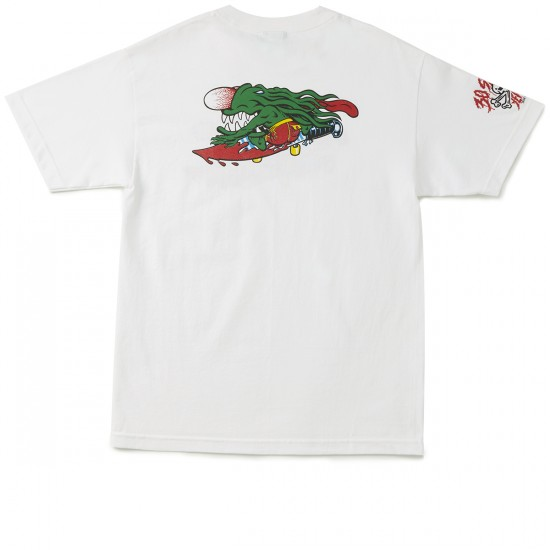 Santa Cruz 30th Anniversary Slasher T-Shirt - White