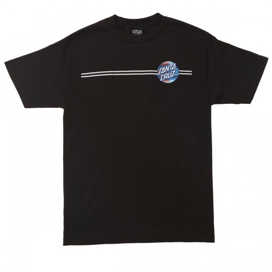 Santa Cruz Serape Dot Fade T-Shirt - Black