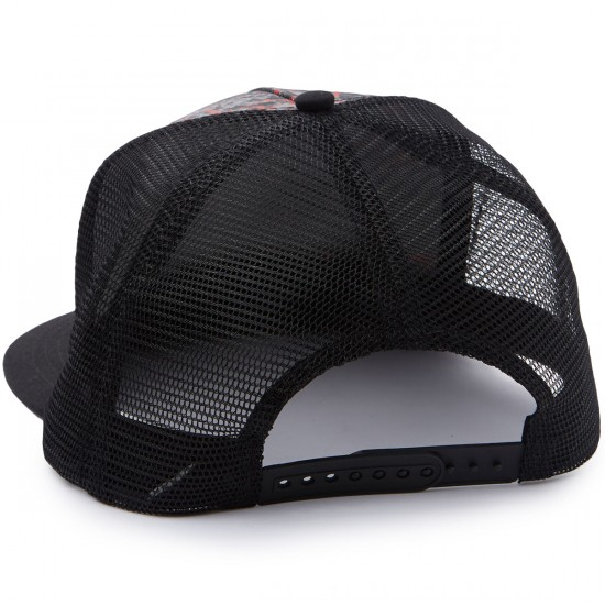 Santa Cruz Classic Dot Trucker Mesh Hat - Splatter/Black