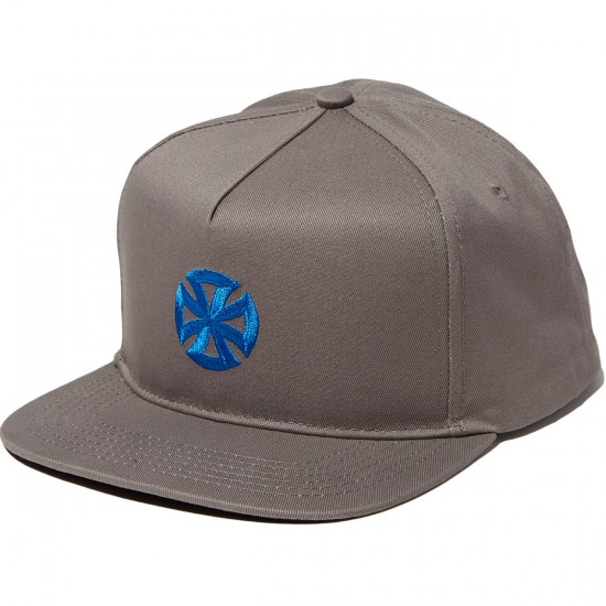 Independent Directional Cross Adjustable Snapback Hat - Grey