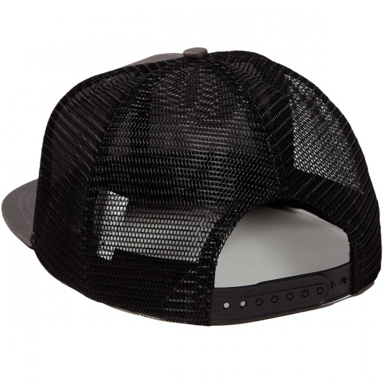 Independent Fuck Off Trucker Mesh Hat - Grey/Black