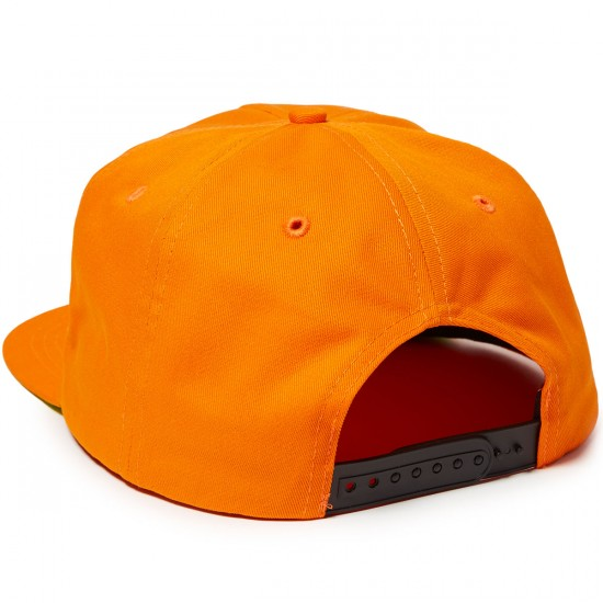 OJ OJ2 Elites Adjustable Snapback Hat - Orange