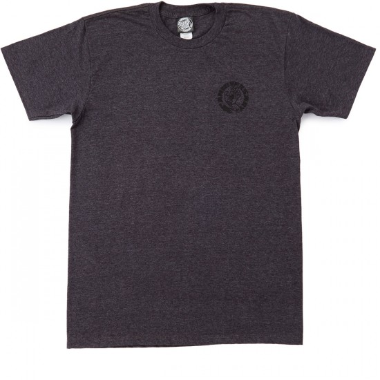 Santa Cruz Funeral French Hand T-Shirt - Charcoal Heather