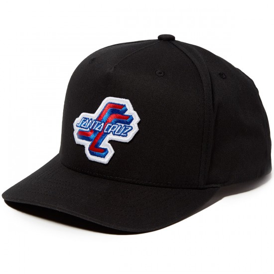 Santa Cruz OGSC Adjustable Snapback Hat - Black