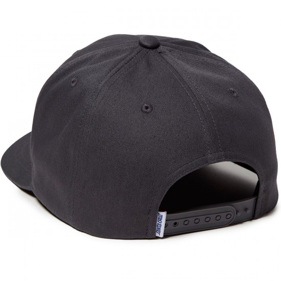 Santa Cruz OGSC Adjustable Snapback Hat - Charcoal