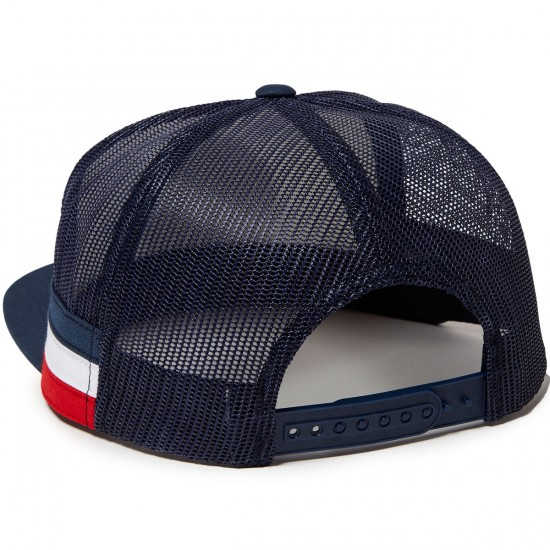 Independent The Only Choice Trucker Flex Fit Hat - Navy/White