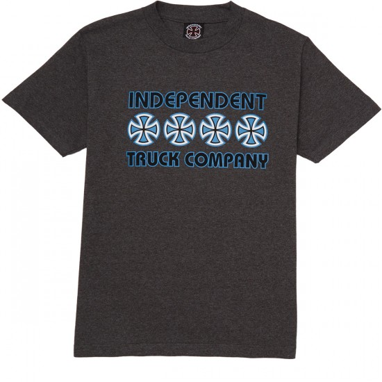 Independent Stacked Color T-Shirt - Charcoal Heather