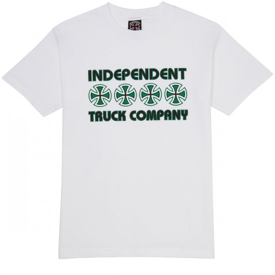 Independent Stacked Color T-Shirt - White