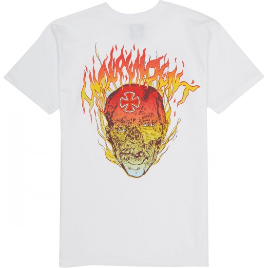 Independent Too Hot T-Shirt - White