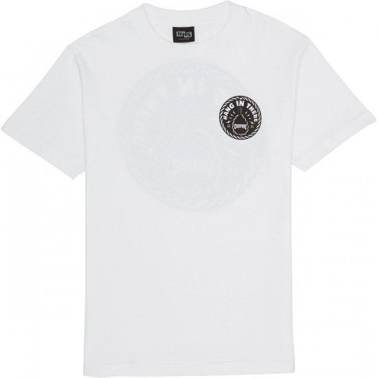 Creature Hang In There T-Shirt - White