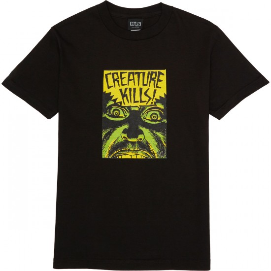 Creature Ambush T-Shirt - Black