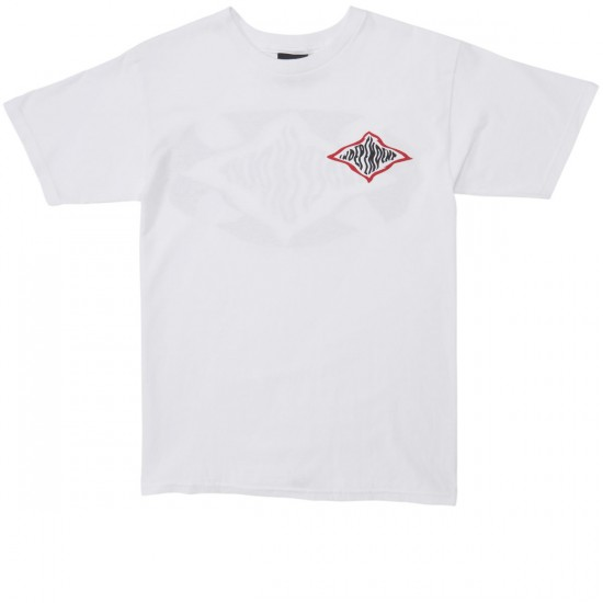 Independent Warped Cross T-Shirt - White