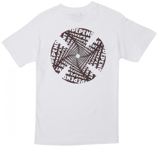 Independent Spiral T-Shirt - White