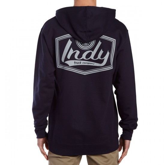 Independent Indy Patch Pullover Hoodie - Navy