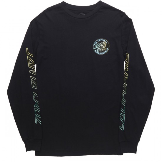Santa Cruz Cali Fade 2 Long Sleeve T-Shirt - Black