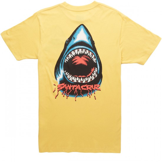 Santa Cruz Biter Pocket T-Shirt - Corn