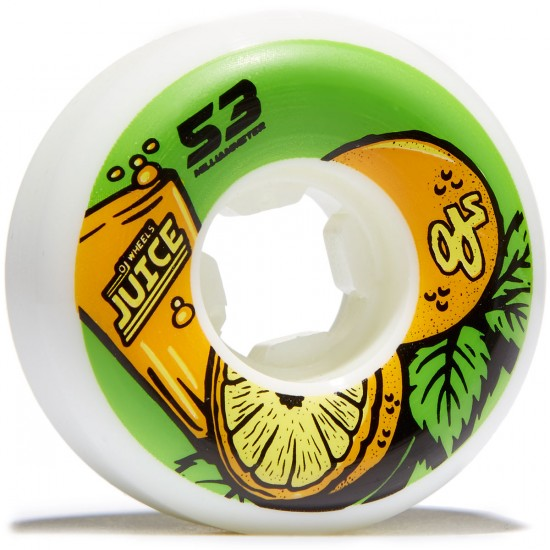 OJ Juice Insaneathane Hardline Skateboard Wheels - 53mm