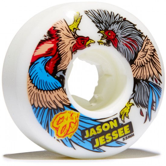 OJ Jessee Cock Fight EZ Edge Insaneathane Skateboard Wheels - 55mm 101a