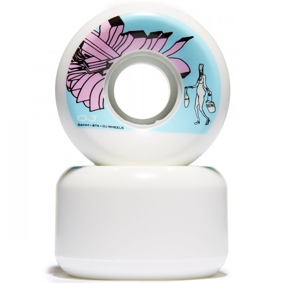 OJ Johnson Duty Free Keyframe Skateboard Wheels - 54mm 87a
