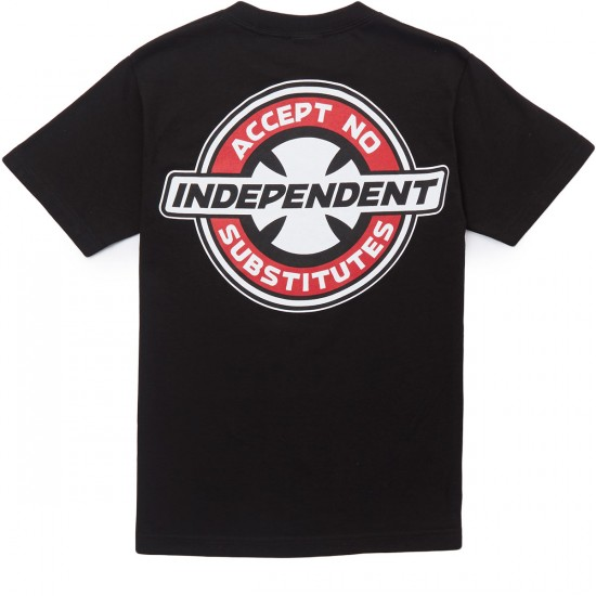 Independent X CCS Accept No Substitutes T-Shirt - Black