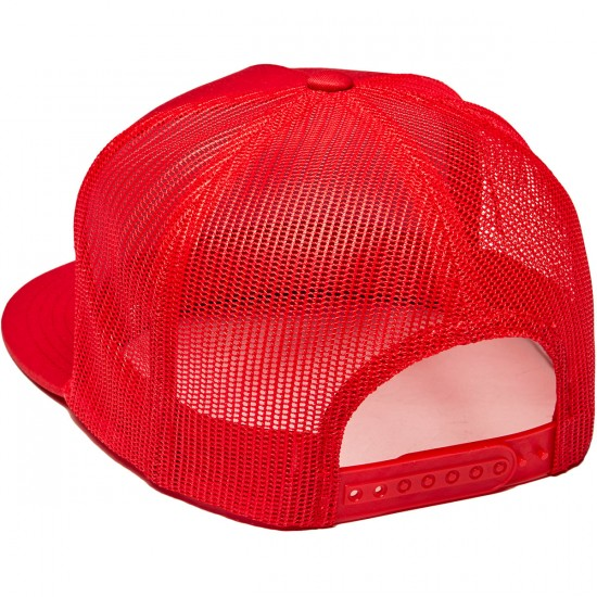 Independent OG Flexfit Trucker Hat - Red