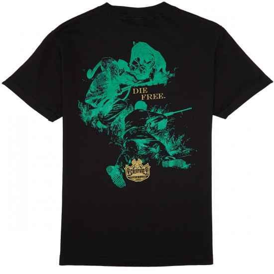 Creature Fish And Game T-Shirt - Black