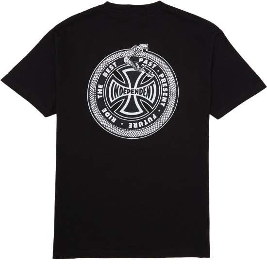 Independent Past Present Future T-Shirt - Black