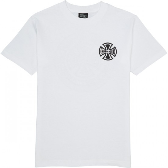 Independent Past Present Future T-Shirt - White
