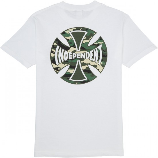 Independent Concealed T-Shirt - White
