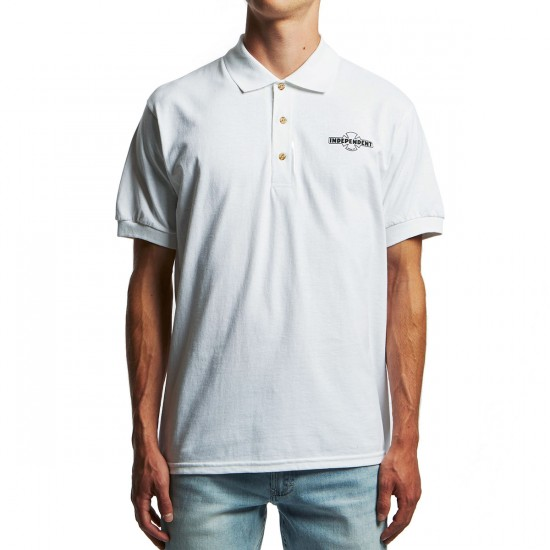 Independent OG Polo Shirt - White