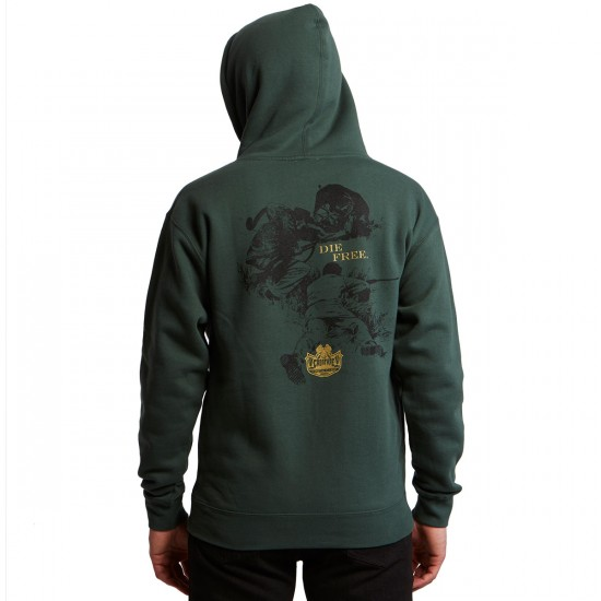 Creature Fish And Game Pullover Hoodie - Alpine Green