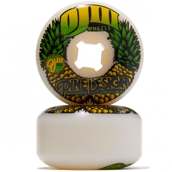 OJ Saladino Pine Design Skateboard Wheels - 60mm 101a