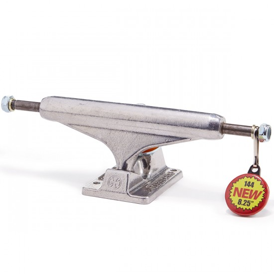 Independent 144 Silver Skateboard Trucks - 144mm
