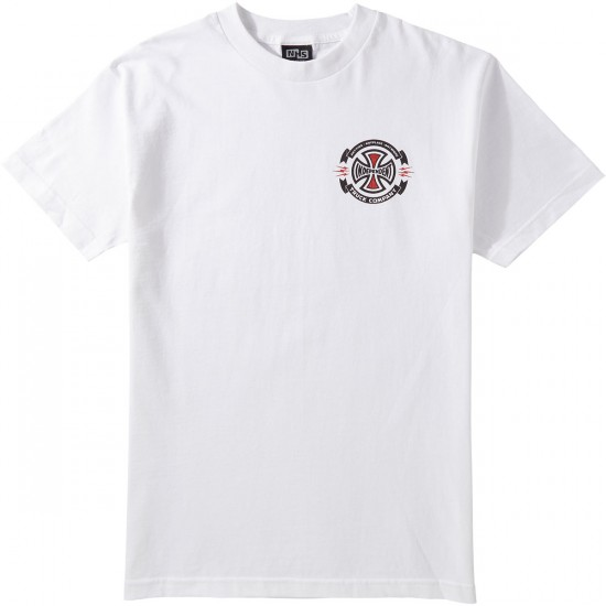 independent triple a t shirt white