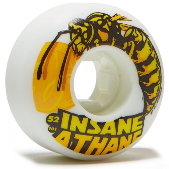 OJ Wasps EZ EDGE 101a Skateboard Wheels - 52mm