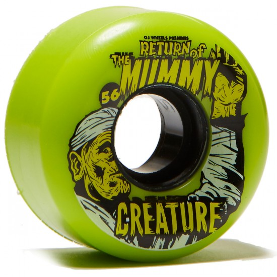 OJ Creature Mummy Keyframe 87a Skateboard Wheels - 56mm