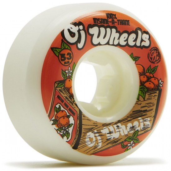 OJ Orange Box Insaneathane Hardline 101a Skateboard Wheels - 53mm