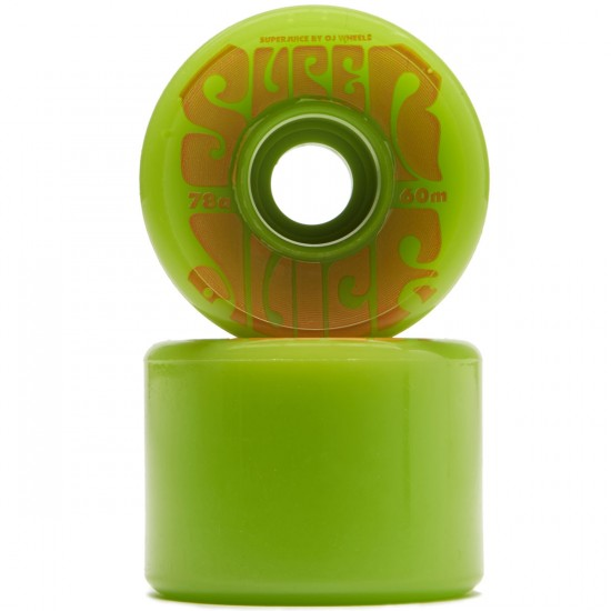 OJ Super Juice Green 78a Skateboard Wheels - 60mm