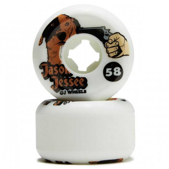 OJ Jessee Dog Revenge Insaneathane Hardline Skateboard Wheels - 58mm 101a