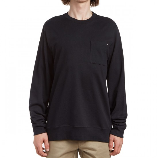Nike SB Long Sleeve T-Shirt - Black