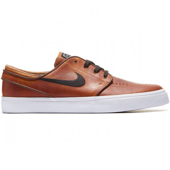 Nike Zoom Stefan Janoski Elite Shoes - Ale Brown/White/Brown - 7.0